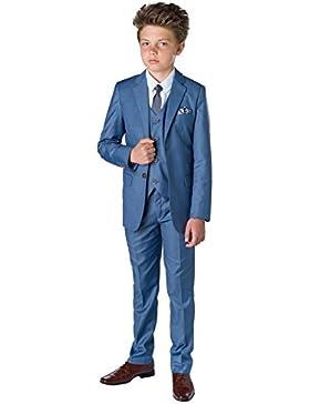 Paisley of London, niños traje azul, Chambray Suit, Página Chico Trajes, niños trajes de boda, 1-13años
