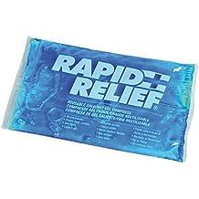 Rapid Relief compresa reutilizable, bolsa frío calor 15x26 cm