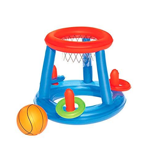 Yigo piscina gonfiabile galleggiante giocattolo dell'acqua di pallacanestro piscina galleggiante giocattoli per i bambini canestro da pallacanestro 1pc