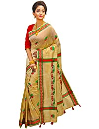 Avik Creations Latest Design Assam Art Silk Mekhla Designer Traditional Saree Yellow Red Green With Blouse Piece...