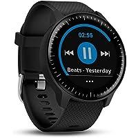 Garmin Vivoactive 3 Music - Smartwatch GPS con memoria interna per i tuoi brani musicali e profili sport, Unisex adulto, Nero