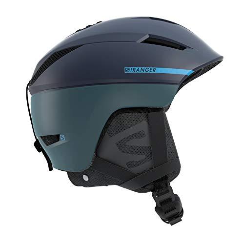 Salomon Casco da Sci e da Snowboard in Pista Per Uomo, Custom Air, Interno in Schiuma EPS 4D, Taglia M, Circonferenza : 56-59 cm, RANGER² C. AIR, Blu Dress Blue, L40535300