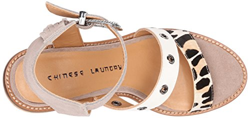 Chinese Laundry Cowgirl Wildleder Sandale Dust Grey