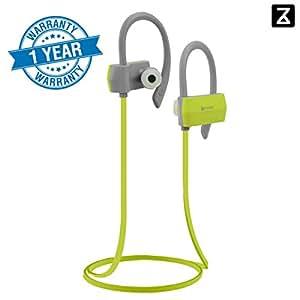 Zakk Sport in-Ear Bluetooth Earphone with Mic (Green)/Bluetooth Headset/Wireless Headphones