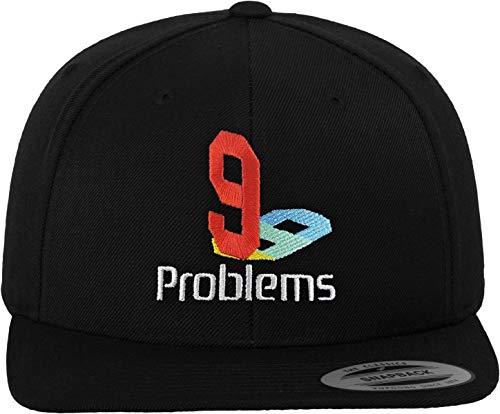Black Tee Cap (Mister Tee 99PLYS Snapback, Black, One Size)