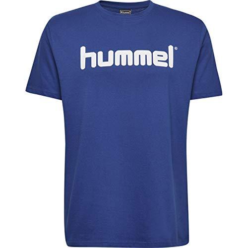 hummel Kinder HMLGO Kids Cotton Logo T-Shirts True Blau 140