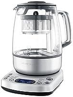 Puissance : 2000 W     Capacité thé : 1,2 L     Capacité eau : 1,5 L     Infusion automatique     5 types de thés et 3 forces de thé préréglées     1 programme personnel     Température d'infusion réglable de 50 à 100°C     Durée d'infusion r...