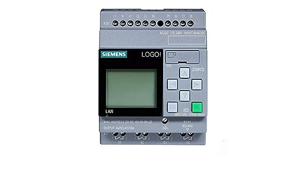 Siemens 6ed1052 1fb08 0ba0 Logo 230rce Logic Modul For Logo 8 Gewerbe Industrie Wissenschaft