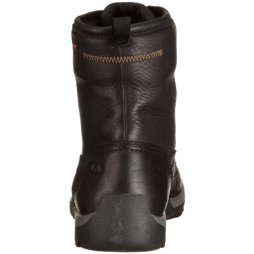 Clarks Rain Hi GTX 2034 Herren Boots Schwarz (Black Wlined Lea)