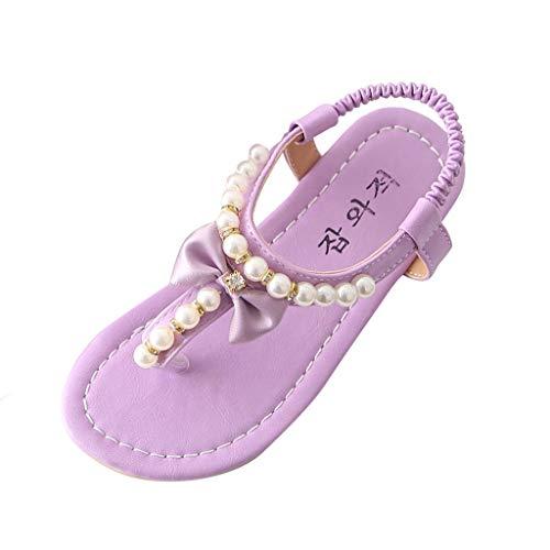 Zapatos bebé niña Verano ZARLLE Sandalias Florales de niñas Sneaker Calzado Zapatos de Vestir Casual...