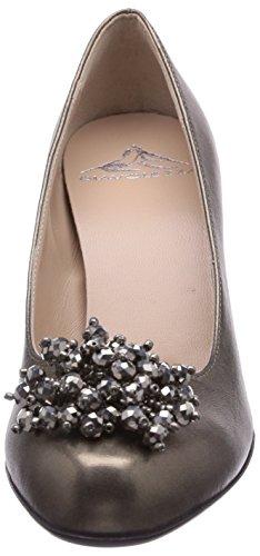 Diavolezza  EDIANA, Chaussures à talons - Avant du pieds couvert femme Gris - Gris
