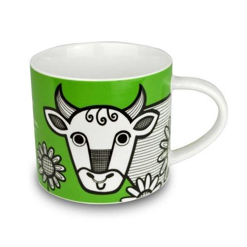 Jane Foster tazza di porcellana-segno zodiacale Toro. In confezione regalo