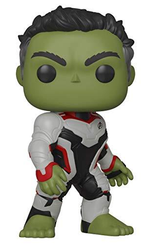 Funko- Pop Bobble: Avengers Endgame: Hulk Marvel Collectible Figure, (36659)