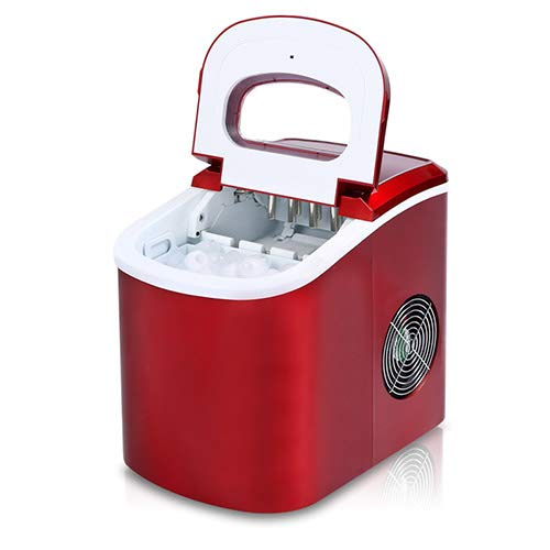 Mini Electric Ice Maker Portable Automatic Bullet Round Block Ice Cube Making Machine Small Bar Coffee Shop