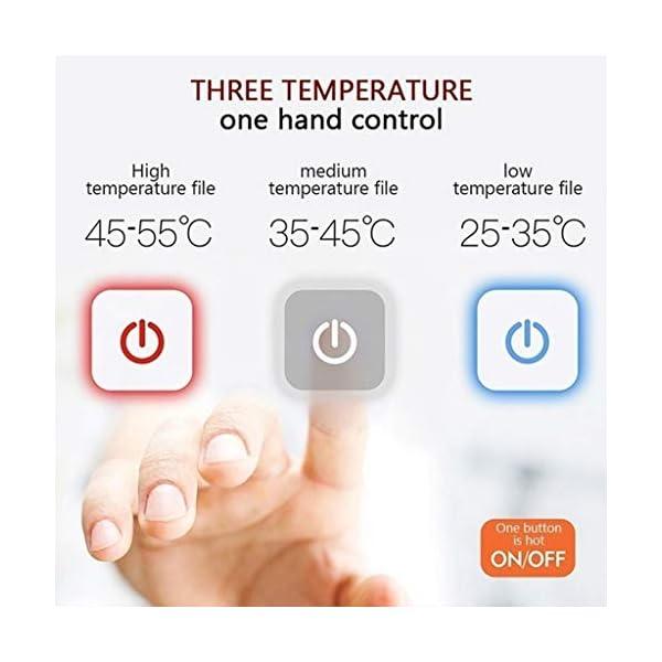 Shenye - Pantalones térmicos para niños de 3 a 9 años, con calefacción por USB, para niños Grandes y niñas, para… 5