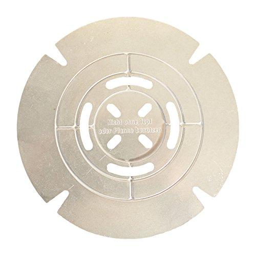 JOSKO Produkte 8101 Riduttore per fornello a gas in alluminio