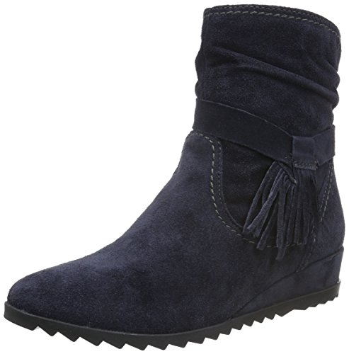 Tamaris Damen 25006 Kurzschaft Stiefel Blau (Navy 805)