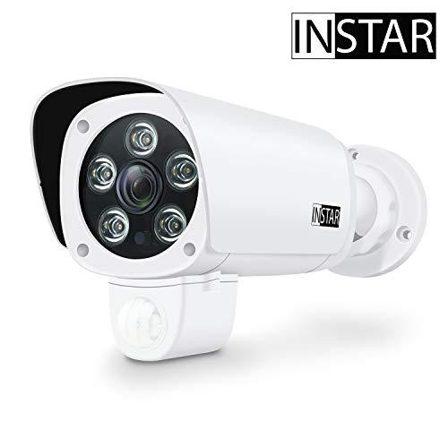 INSTAR IN-9008 Full HD weiss - WLAN Überwachungskamera - IP Kame...