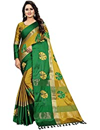 c44a3218101 Shreeji Designer Cotton Silk Saree 0