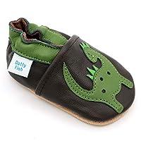 Nos chaussures en cuir souple sont parfaites pour les plus petits! Il est recommandé aux bébés et aux tout-petits de porter des chaussures en cuir souple, par opposition aux chaussures à semelle dure, autant que possible. Les tout-petits qui se conte...
