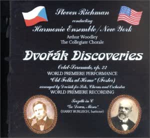 Dvorak Discoveries / Octet-Serenade Op 22