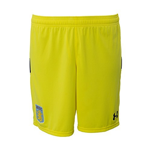 Under Armour Kinder Fussball Aston Villa Home Torwart Shorts Kurze Hose 2016-17 - 11-12 Jahre (Herren Armour Team Hose Under)