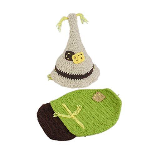 ENCOCO Foto-Kostüm, für Neugeborene, handgefertigt, gehäkelt, ()
