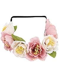 Hair Drama Company Floral Tiara For Women And Girls