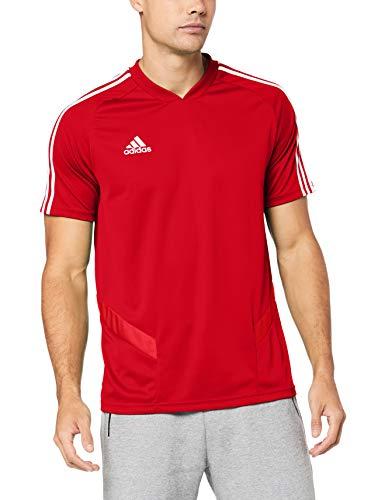 Adidas tiro 19 training, maglia da allenamento uomo, power red/white, s