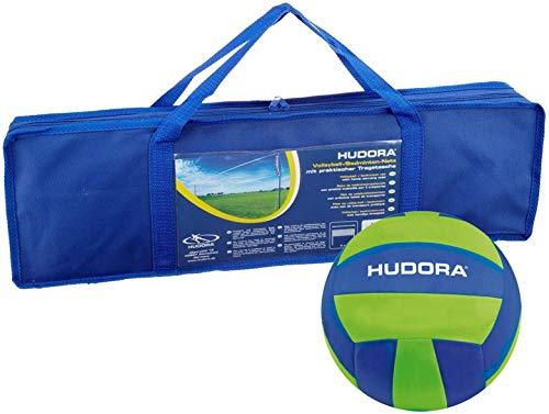 HUDORA Volleyball-Netz/Badminton-Netz - inkl. Tragetasche (+ Volleyball XL)