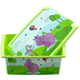 OKT 2713.78 Fashion-Box Hippo, Aufbewahrungsbox 10 l (WI4)