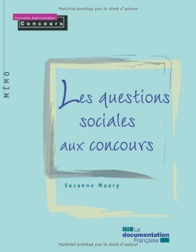 Les questions sociales aux concours