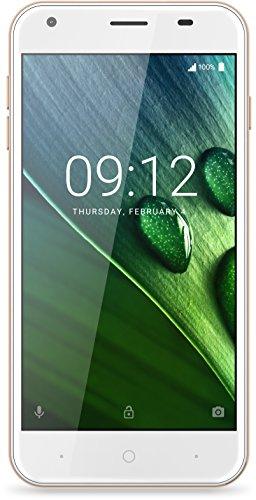 Acer Liquid Z6 Dual Micro-SIM Smartphone (12,7 cm (5 Zoll) HD Display, 8GB Speicher, 2.000mAh Akku, 4G (LTE), Android 6.0) gold