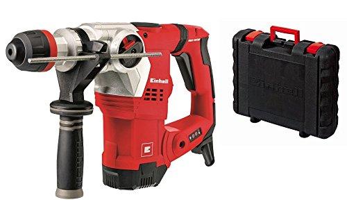 elektro bohrhammer Einhell Bohrhammer TE-RH 32 E (1250 W, 5 J, Bohrleistung Ø 32 mm, SDS-Plus-Aufnahme, Metall-Tiefenanschlag, Vibrationsdämpfung mit Andruckanzeige, Koffer)