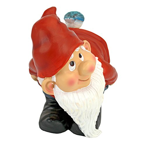 Design Toscano Loonie Moonie Bare Buttocks Garden Gnome Statue: Medium - 3
