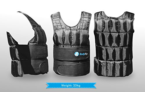 BodyRip-Chaleco de peso comodidad acolchada Deluxe