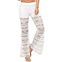 lunaanco Dios CREA Mujeres Mallas Deportes Mujer☭Leggings Yoga Pantalon de Encaje☭Cintura para Running Pantalones Delgados☭Fitness con Elásticos y Seca Rápido