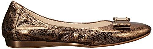 Cole Haan Tali Bow Ballet Flat Ch Gold/Metallic