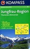 Jungfrau-Region, Thunersee, Brienzersee 1 : 50 000: Wandern / Escursioni. GPS-genau