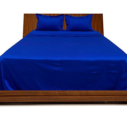 300TC 100% cotone egiziano 4pezzi set di fogli con finitura elegante (tasca dimensioni: 24cm), Cotone, (Harrison Bed Set)