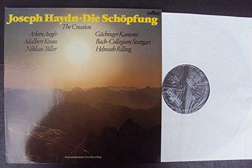 Die Schöpfung - The Creation - Konzertmitschnitt - Live Recording. Helmuth Rilling, Arleen Auger, Adelbert Kraus, Niklaus Tüller, Gächinger Kantorei, Bach Collegium Stuttgart. Stereo