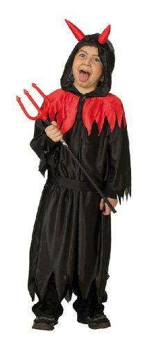 Kostüm Teufel Satan Kinderkostüm Gr. 104, 116, 128, 140, 152, 164, Größe:164 (Satan Kostüme)
