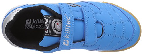 Killtec Genua Jr, Chaussures de Fitness Garçon Bleu (Neon Blue)