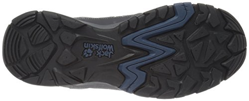 Jack Wolfskin MTN ATTACK 5 TEXAPORE LOW M, Chaussures de randonnée homme Gris (Dark Sky 1165)