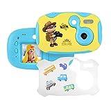 Tyhbelle DIY Kamera für Kinder mit Aufkleber Digital Kamera 1.44