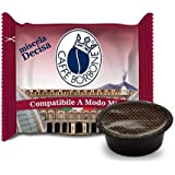 Caffè Borbone 50 Don Carlo, Compatibili a Modo Mio, Miscela Decisa - 360 gr