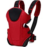 Mom's Pride 3 in 1 Baby Carry Bag Backpack Sling Back Position | Front Position Carrier (Red)