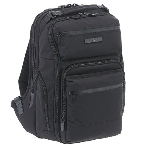 Victorinox Architecture Urban Black Diamond Rath Slim Back Pack 46 cm negro