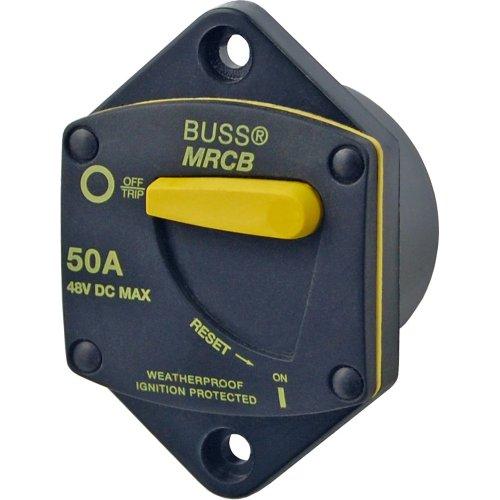 Generator Breaker Panel (Blue Sea 7044187-Serie Zündung geschützt Thermoschutzschalter Panel Mount-100Amp)