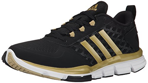 Adidas Performance Speed â??â??Trainer 2 Chaussure d'entraînement, noir / carbone métallisé / Black/Gold Metallic/Gold Metallic
